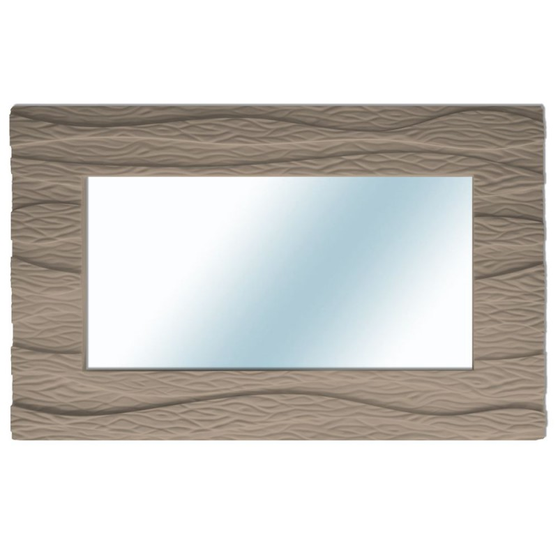Miroir contemporain l 39 oc an t thys mim sis for Grand miroir rectangulaire design