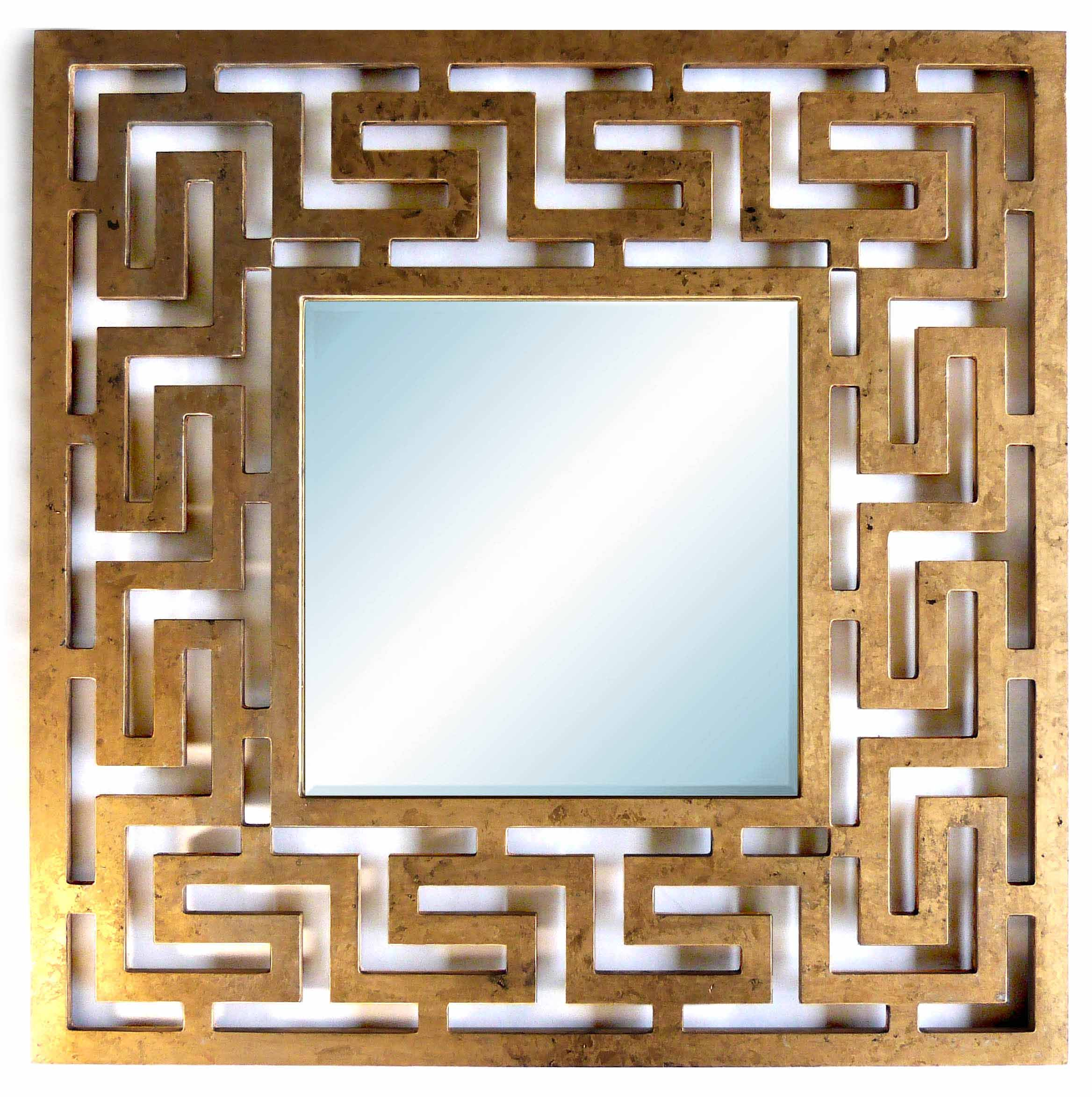 Miroir labyrinthe contemporain et design mim sis for Grand miroir design